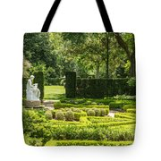 201707040-001 Seated Woman Statue 4x5 Tote Bag