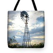 2017_08_midland Tx_windmill 2 Tote Bag