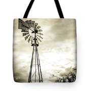 2017_08_midland Tx_windmill 3 Tote Bag