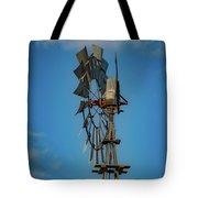 2017_08_midland Tx_windmill 8 Tote Bag