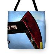 2017_09_midkiff Tx_oil Well Pump Jack Closeup 2 Tote Bag