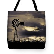 2017_09_midland Tx_windmill 8 Tote Bag