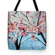 201726 Cherry Blossoms Tote Bag