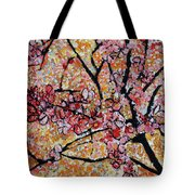 201727 Cherry Blossoms Tote Bag