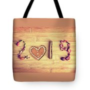 Spices New Year Card Tote Bag