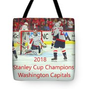2018 Stanley Cup Champions Washington Capitals Tote Bag