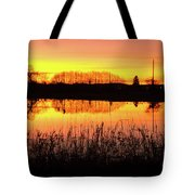 2018_2_12  Vivid Sunset Reflection-4291 Tote Bag