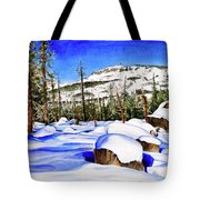 #202 Donner Summit Tote Bag