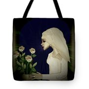 202 - Shy  Bride  2017 Tote Bag