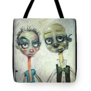 2040 Reality Hits The Millennials Tote Bag