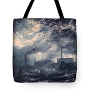 20th Century Industrial Landscape Tote Bag