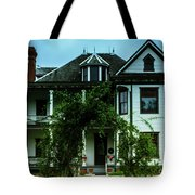 20th Century Mansion Tote Bag