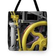 20th Century Mechanical Machinery Sc Tote Bag