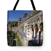Alcazar Seville Sevilla Andalucia Spain Tote Bag