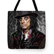 Alice Cooper Collection Tote Bag