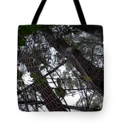 Australia - Spider Web High In The Tree Tote Bag