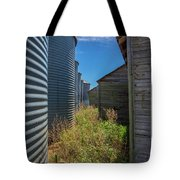 Back Alley On The Prairies Tote Bag