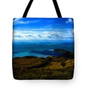 Landscape Graphic Tote Bag