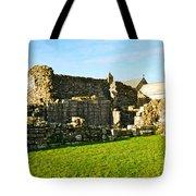 Lindisfarne Priory Tote Bag