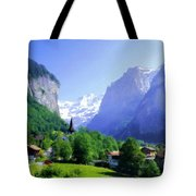 Show Landscape Tote Bag