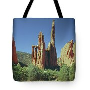 210806-h Spires In Garden Of The Gods Tote Bag