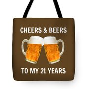 21st Birthday Gifts For Him Her Tote Bag