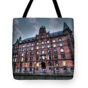 Hamburg Germany Tote Bag