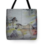 Here Come The Equines Album  Tote Bag