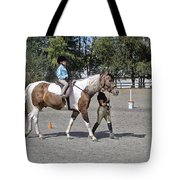 Manito Equestrian Center Benefit Horse Show Tote Bag