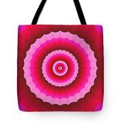 Psycho Hypno Floral Pattern Tote Bag