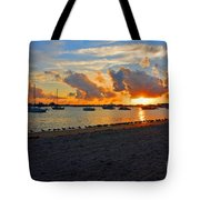 22- Sunset At Seagull Beach Tote Bag