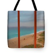 22- Windows On Paradise Tote Bag