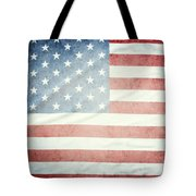 American Flag 37 Tote Bag