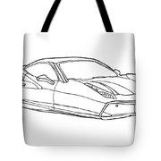 2208 Ferrari Enzo  Tote Bag