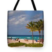 23- A Day At The Beach Tote Bag
