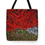 Flower Carpet. Tote Bag