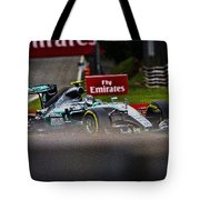 Formula 1 Monza Tote Bag