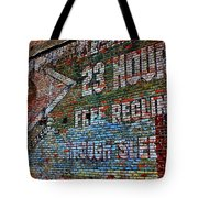 23 Hours Tote Bag
