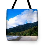 Landscape Paintings Canvas Prints Tote Bag