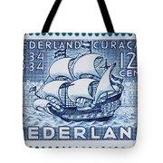 Old Dutch Postage Stamp Tote Bag