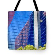 Rio Red And Blue Tote Bag