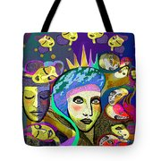 2355 Another Queen  2017 Tote Bag