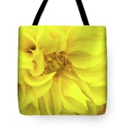 Closeup Of A Colourful Flower Tote Bag