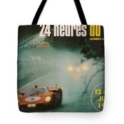 24 Hours Of Le Mans - 1971 Tote Bag