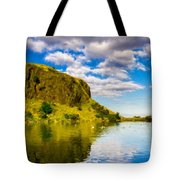 Landscape Wall Tote Bag