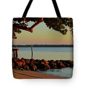 24- Morning In North Palm Beach Tote Bag