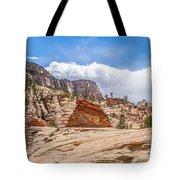 Zion Canyon National Park Utah Tote Bag
