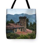 Bogota Cerro De Monserrate Tote Bag