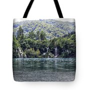 Plitvice Lakes National Park Croatia Tote Bag