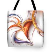 252-hearts In Love Tote Bag
